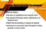 hacker neutralization techniques30