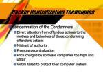hacker neutralization techniques32