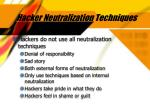 hacker neutralization techniques35
