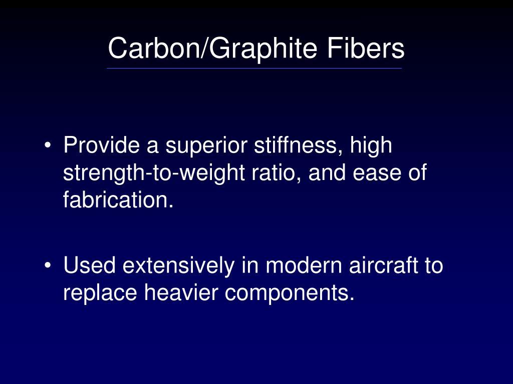 Carbon/Graphite Fibers
