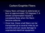 carbon graphite fibers38