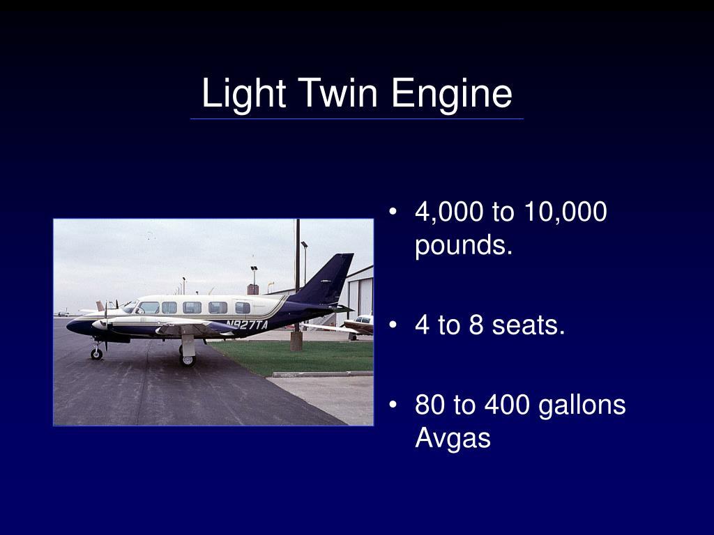 Light Twin Engine