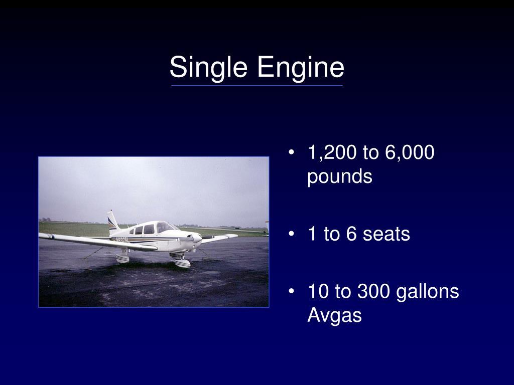 Single Engine