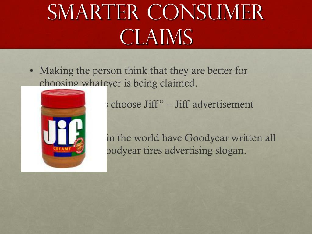Smarter Consumer Claims