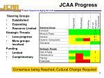 jcaa progress
