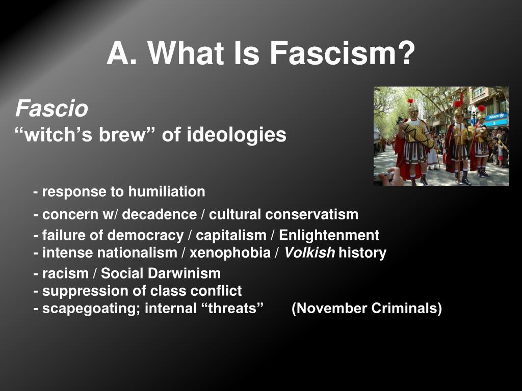 A. What Is Fascism?