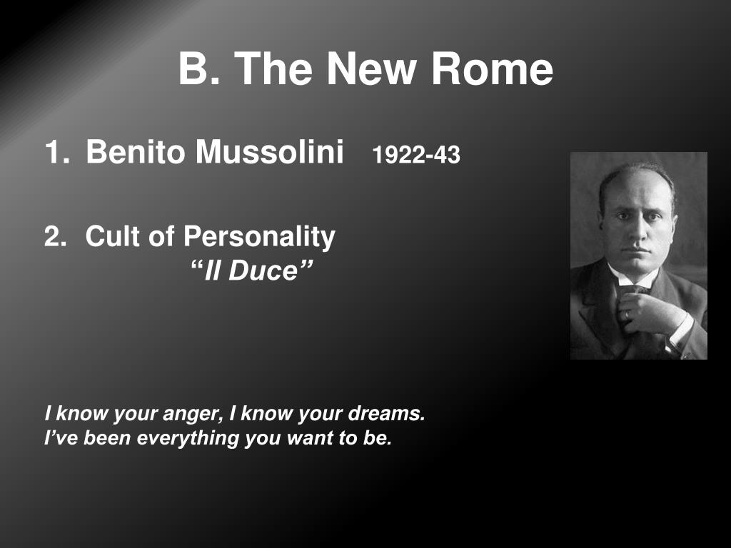 B. The New Rome