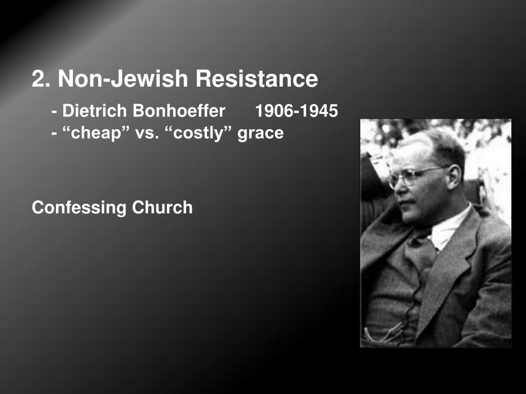2. Non-Jewish Resistance