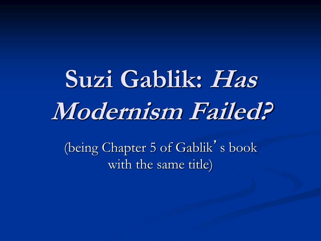 Suzi Gablik: