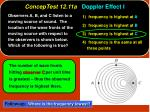 conceptest 12 11a doppler effect i16