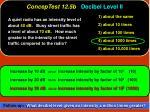 conceptest 12 5b decibel level ii6