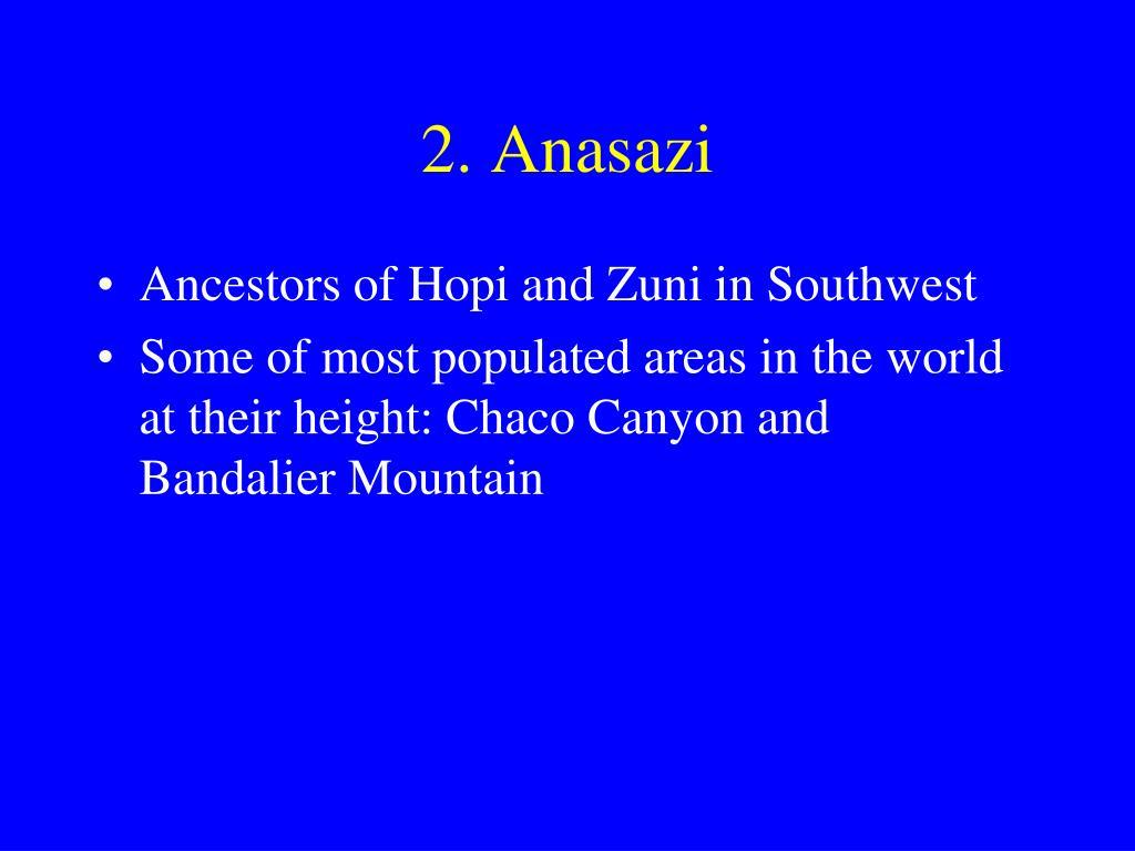 2. Anasazi