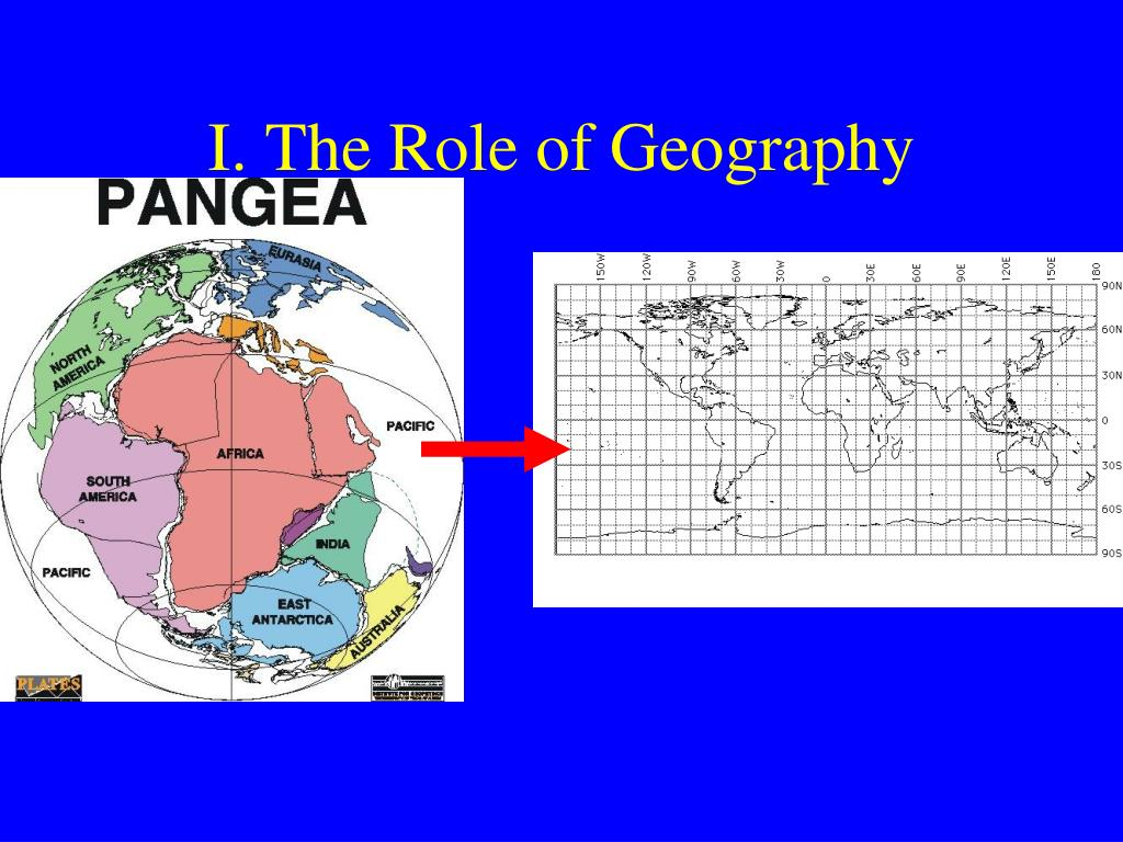 I. The Role of Geography