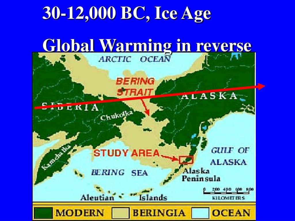 30-12,000 BC, Ice Age