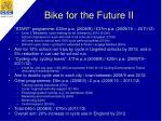 bike for the future ii
