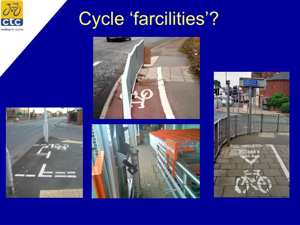 Cycle 'farcilities'?