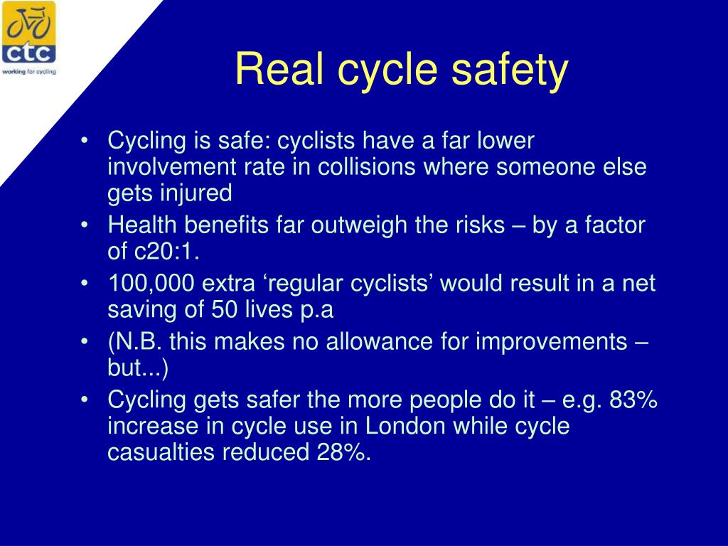 Real cycle safety