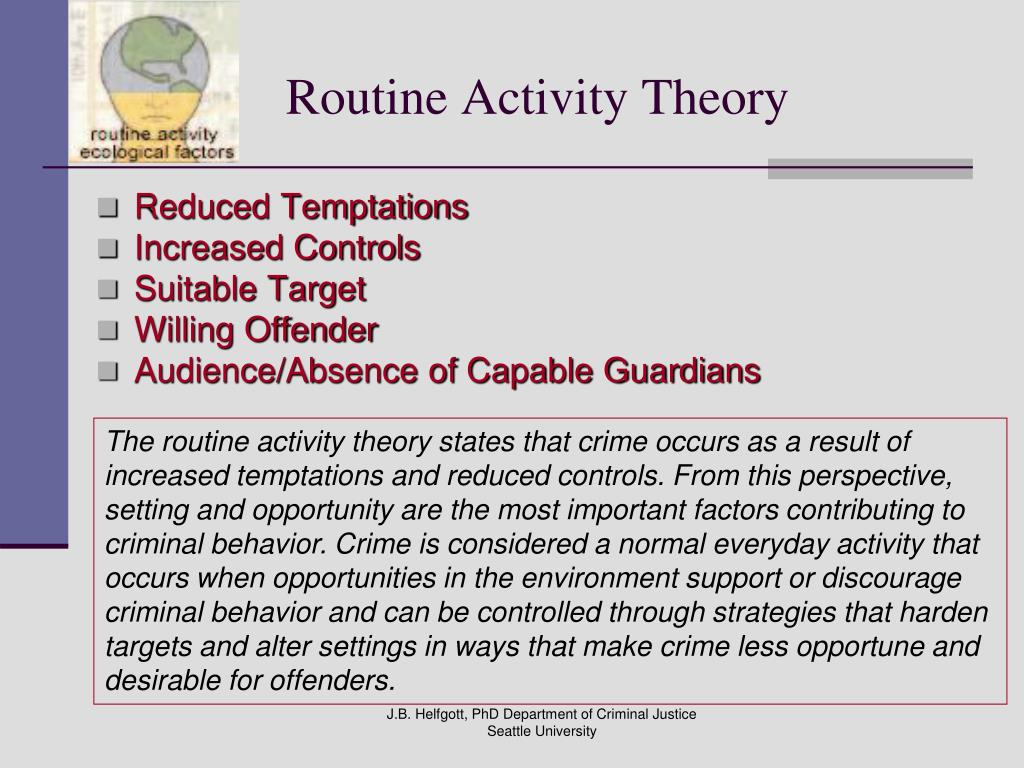 attachment theory and criminal behaviour Attachment theory is a psychological model that describe the early relationships between an infancy and a caregiver largely determines the quality of social relationships later in life.