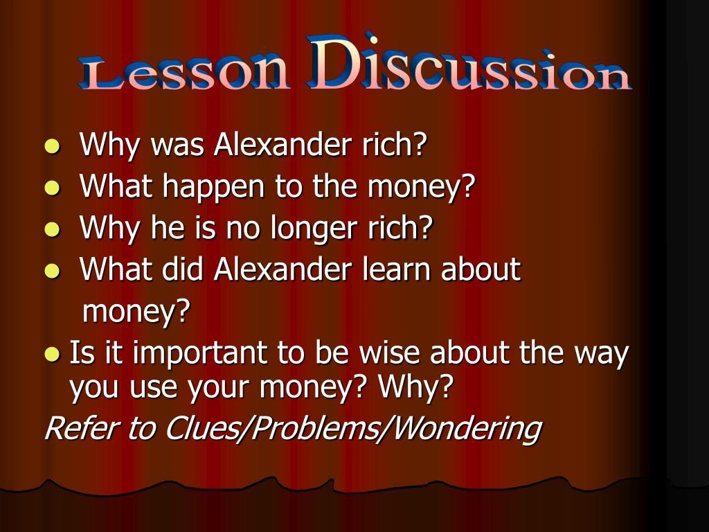 Lesson Discussion