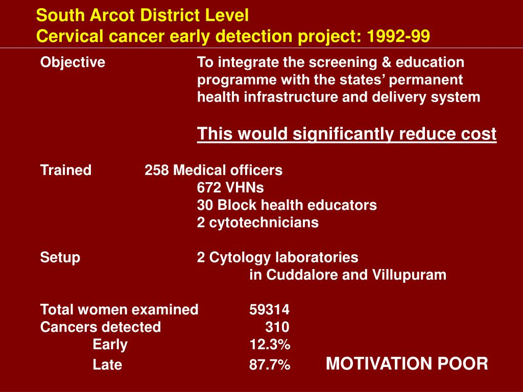 South Arcot District Level