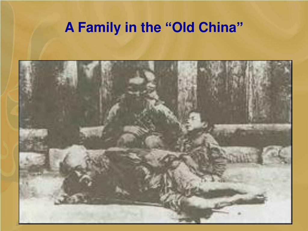 "A Family in the ""Old China"""