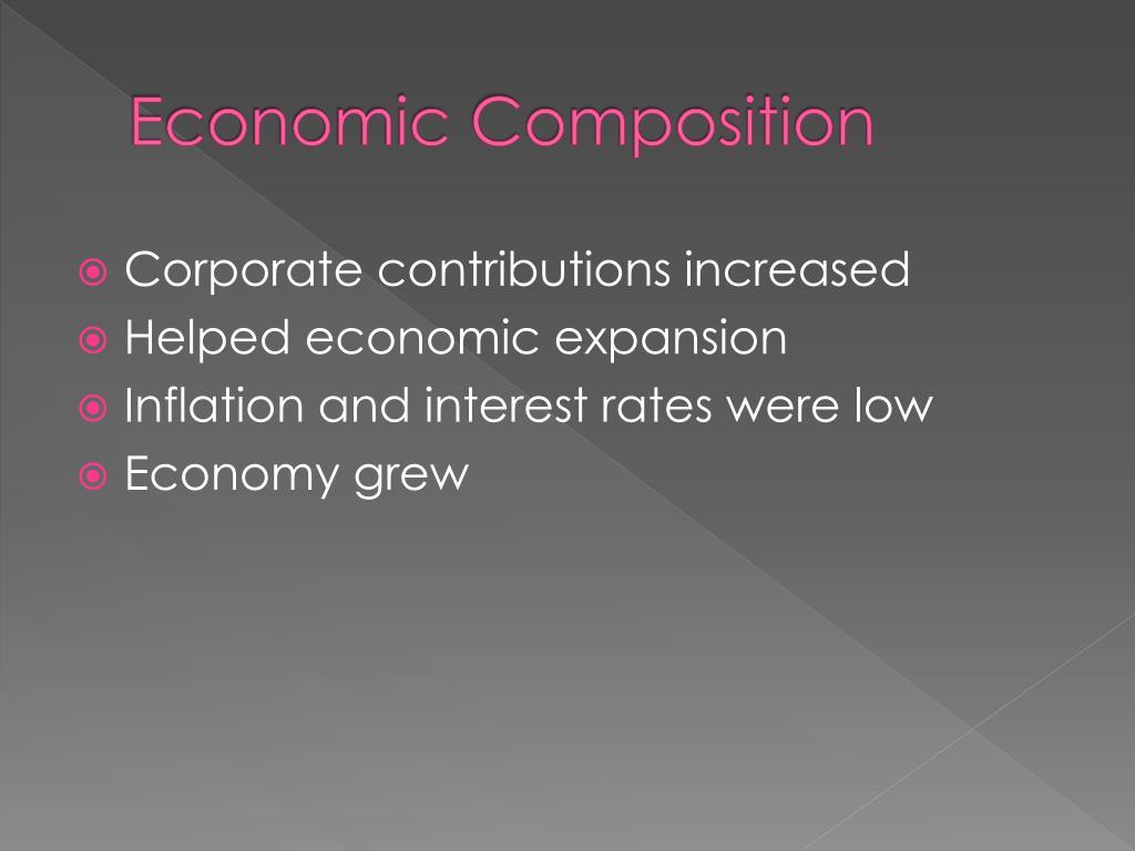Economic Composition