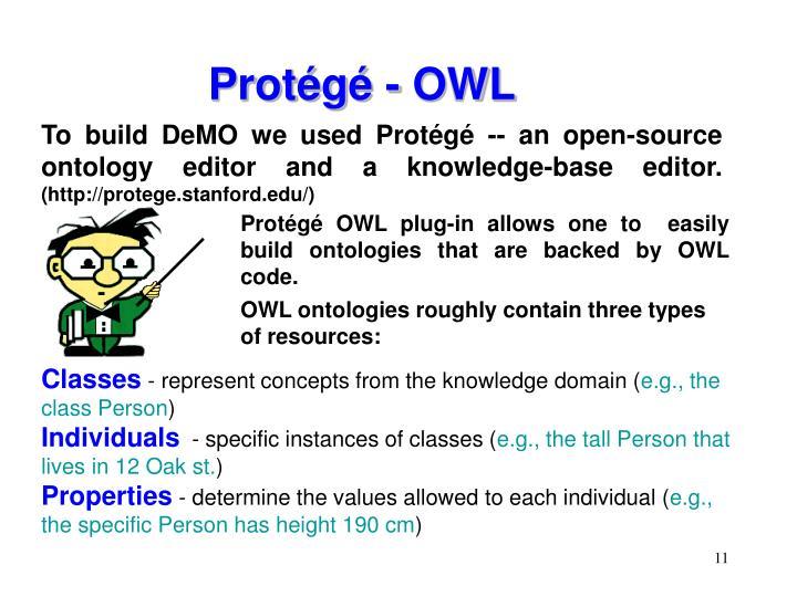 Protégé - OWL