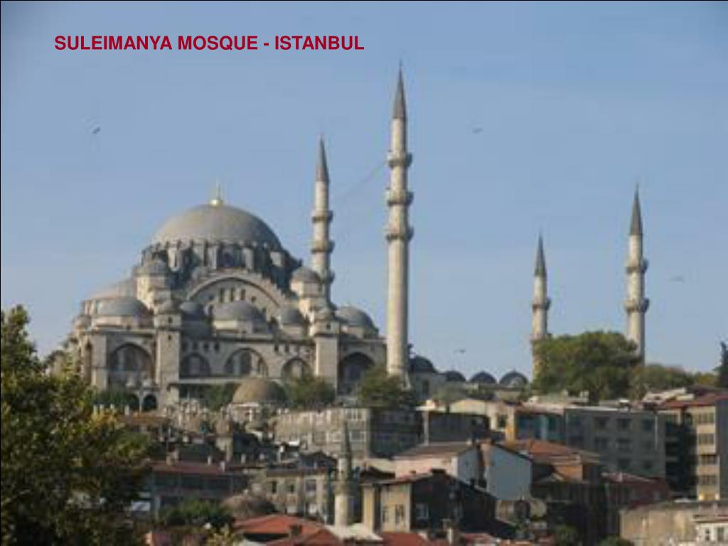 SULEIMANYA MOSQUE - ISTANBUL