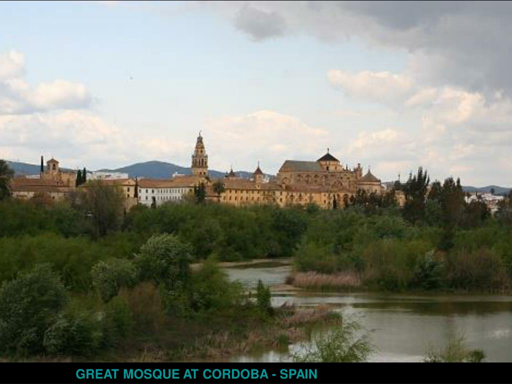 GREAT MOSQUE AT CORDOBA - SPAIN
