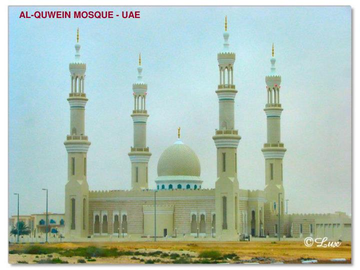AL-QUWEIN MOSQUE - UAE
