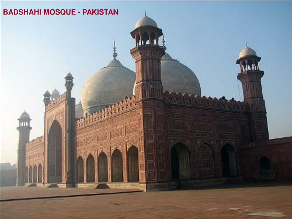 BADSHAHI MOSQUE - PAKISTAN