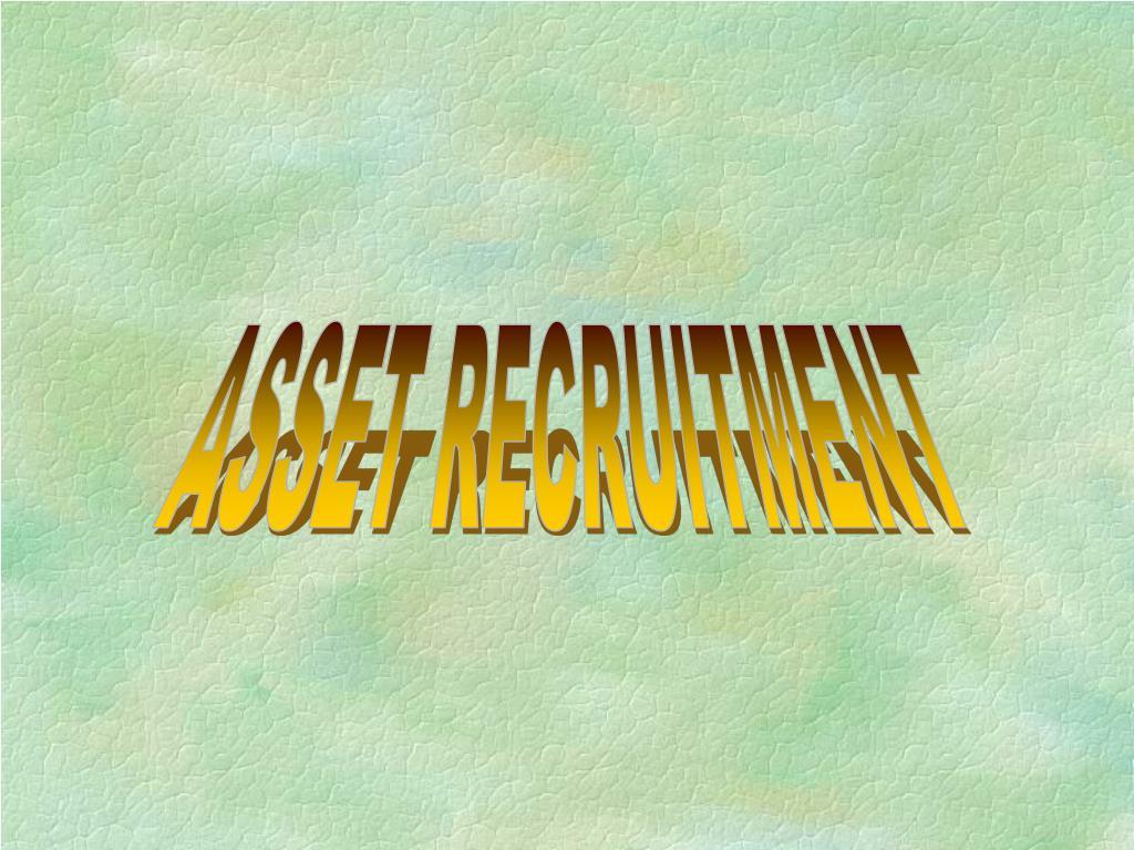 ASSET RECRUITMENT