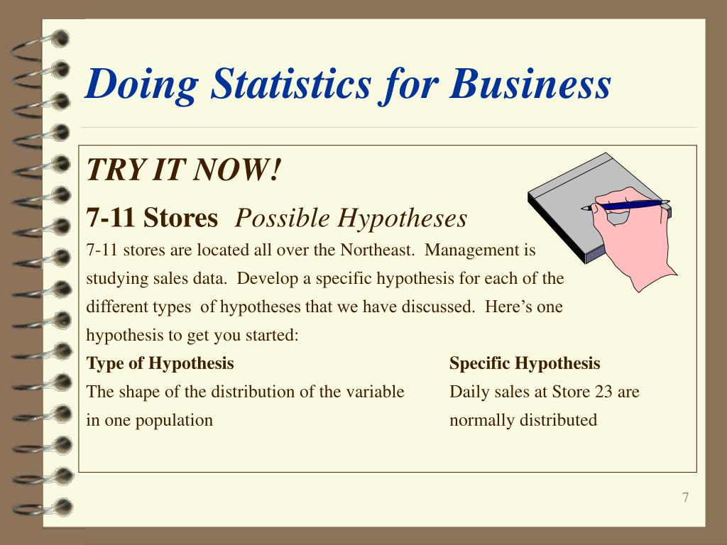 PPT - Doing Statistics for Business Data, Inference, and