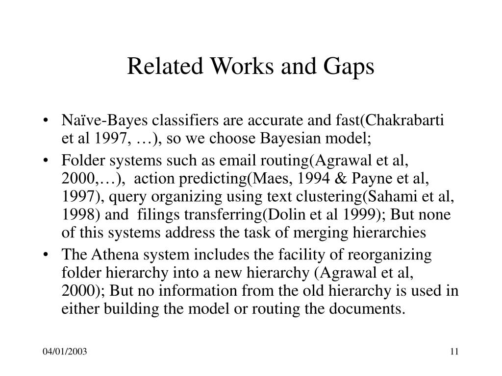 Related Works and Gaps