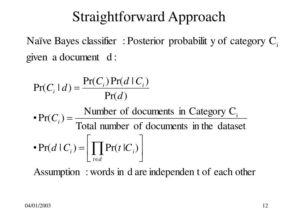 Straightforward Approach