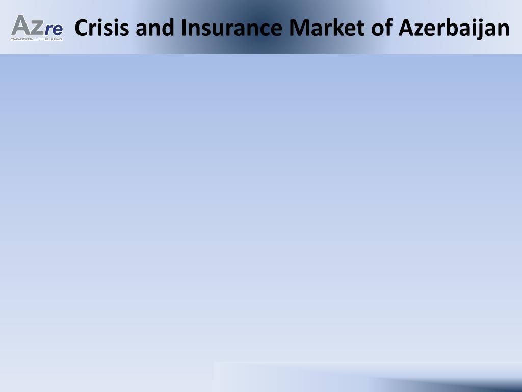Crisis and Insurance Market of Azerbaijan