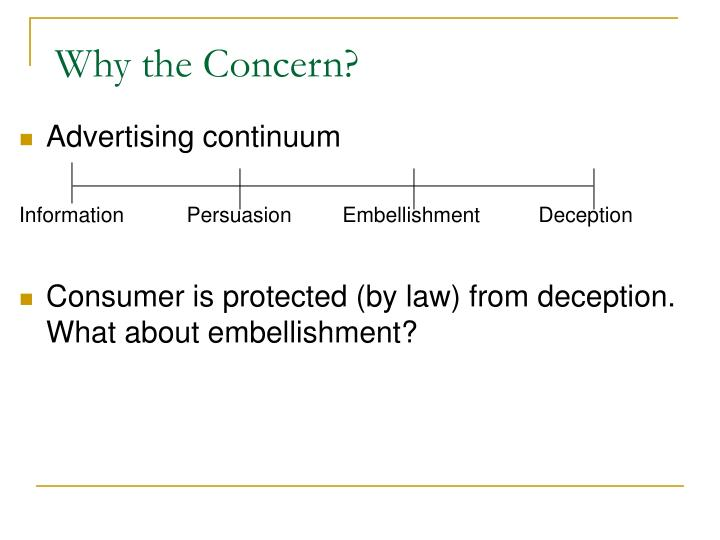 Why the Concern?