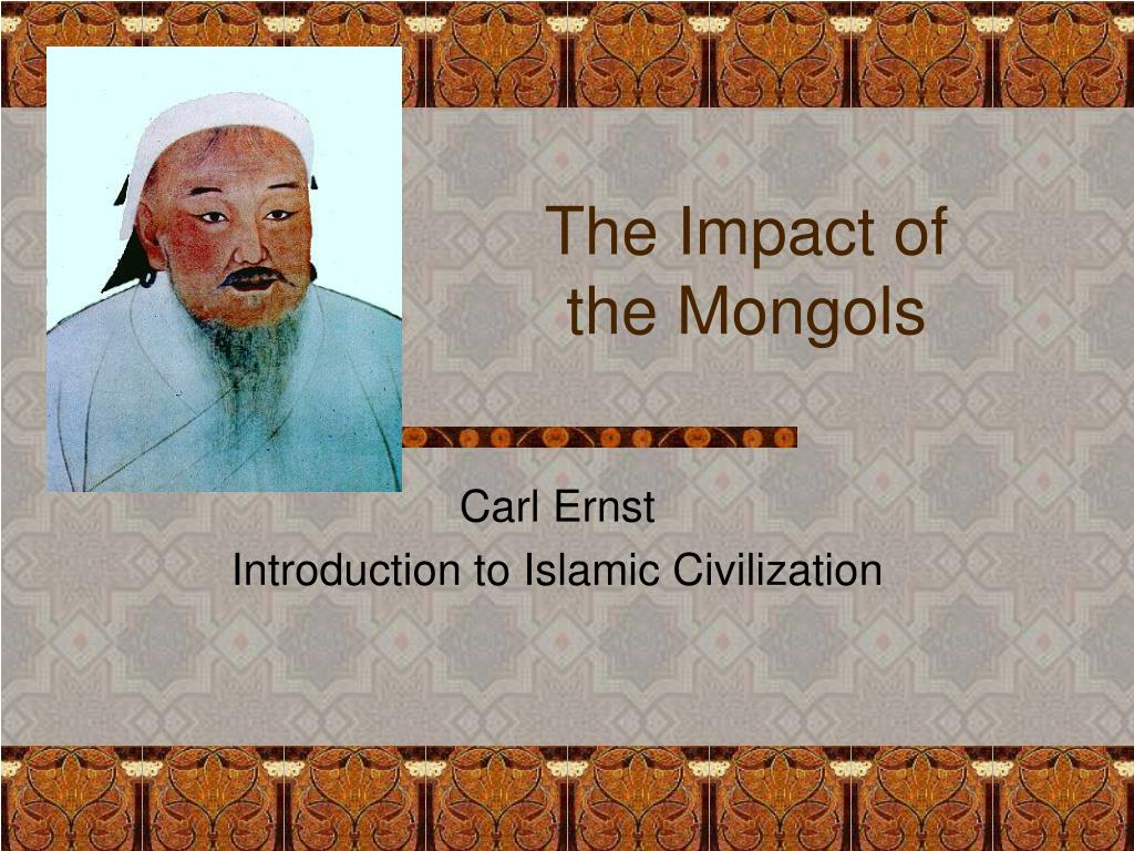 the impact of the mongols l.