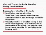 current trends in social housing policy development10