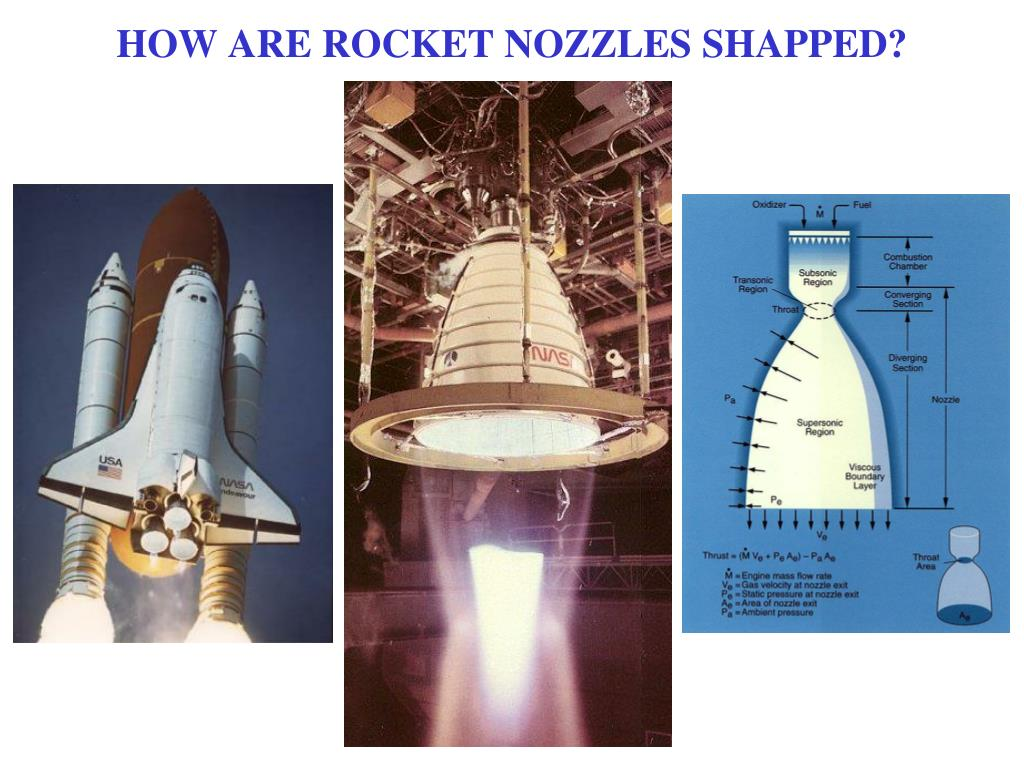 HOW ARE ROCKET NOZZLES SHAPPED?