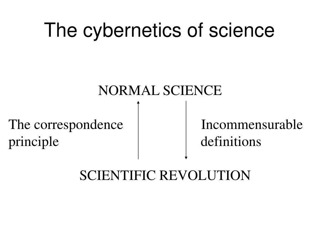 The cybernetics of science