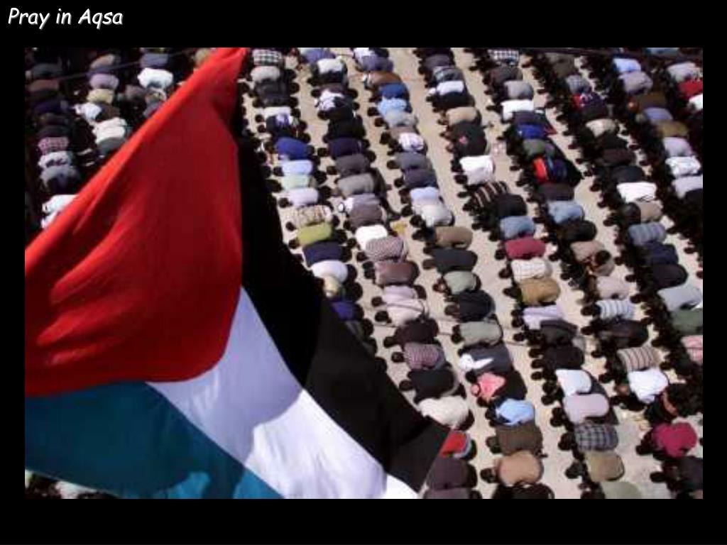 Pray in Aqsa