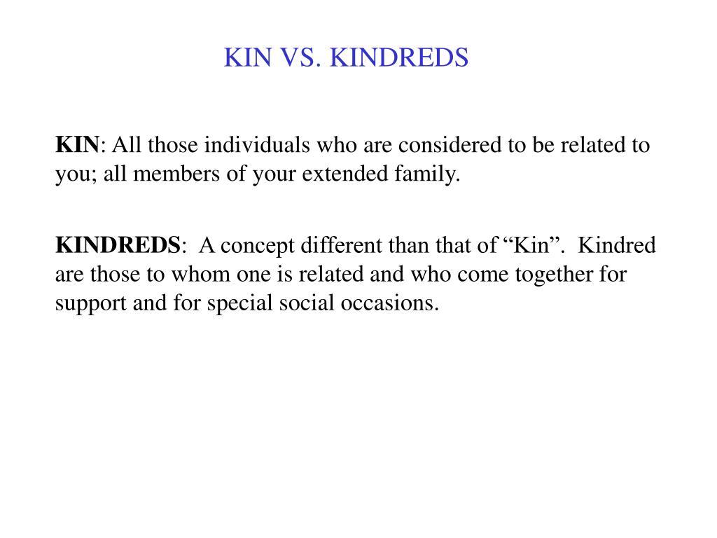 KINDREDS