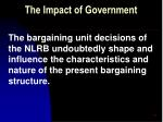 the impact of government