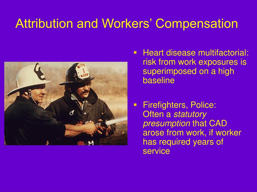 Heart disease multifactorial:  risk from work exposures is superimposed on a high baseline