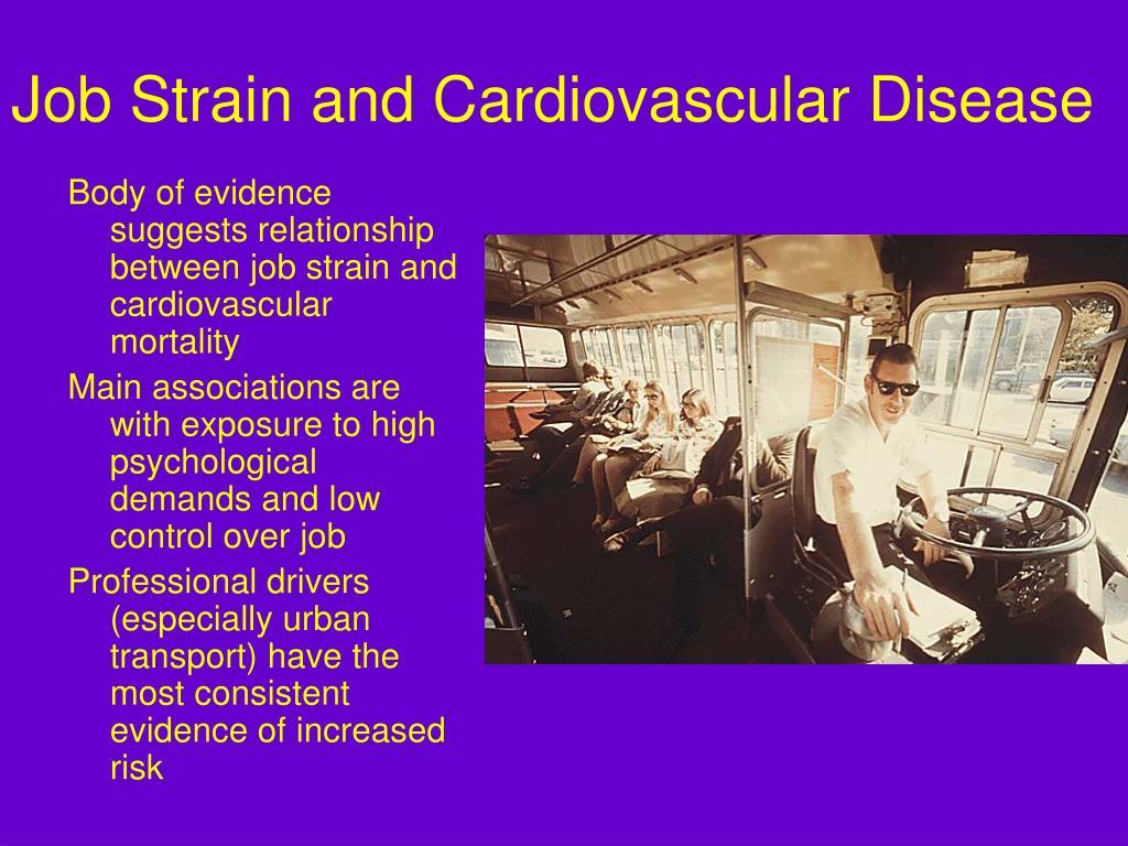 Job Strain and Cardiovascular Disease