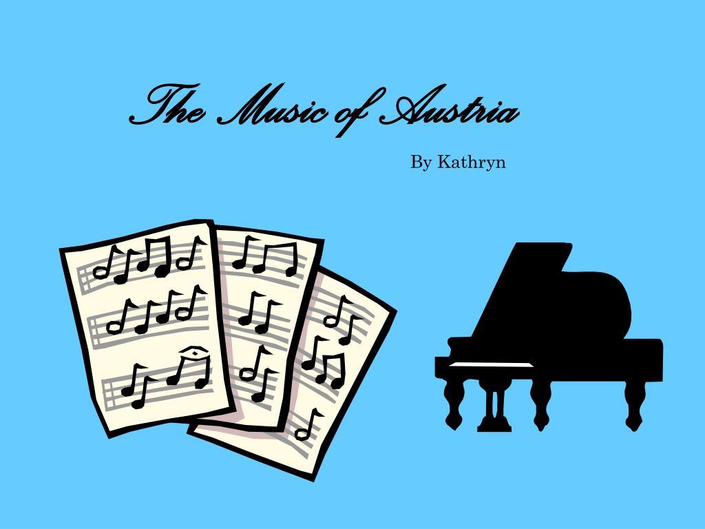 the music of austria l.
