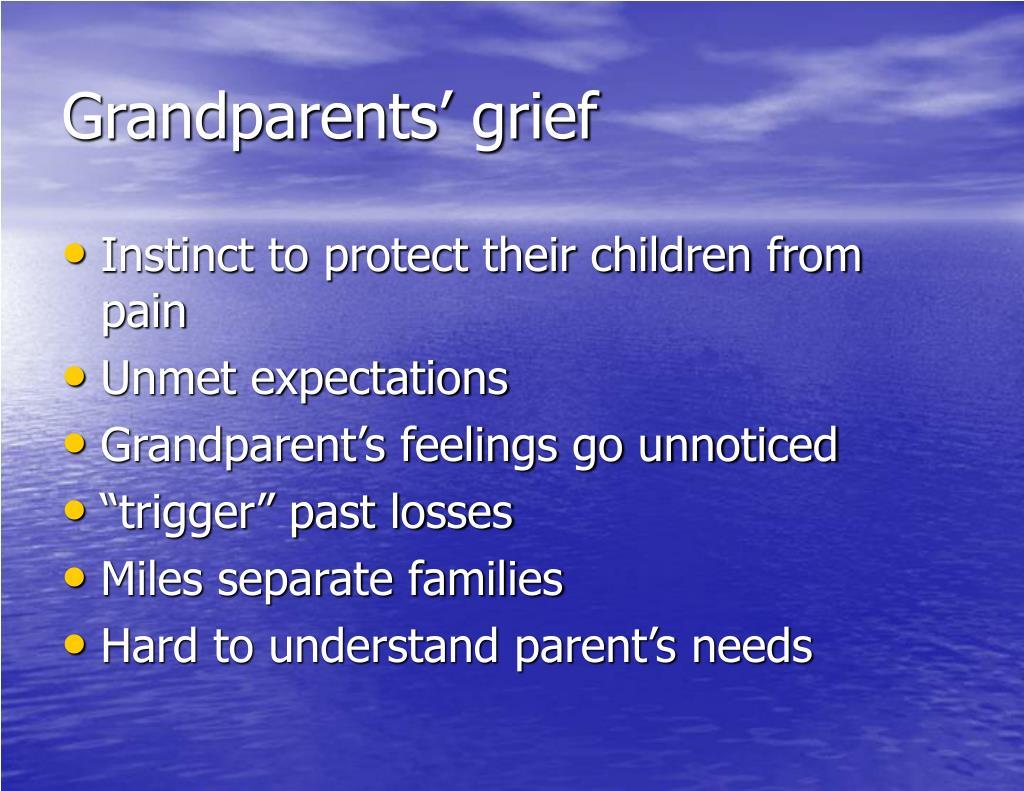 Grandparents' grief