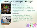 strategic planning in las vegas