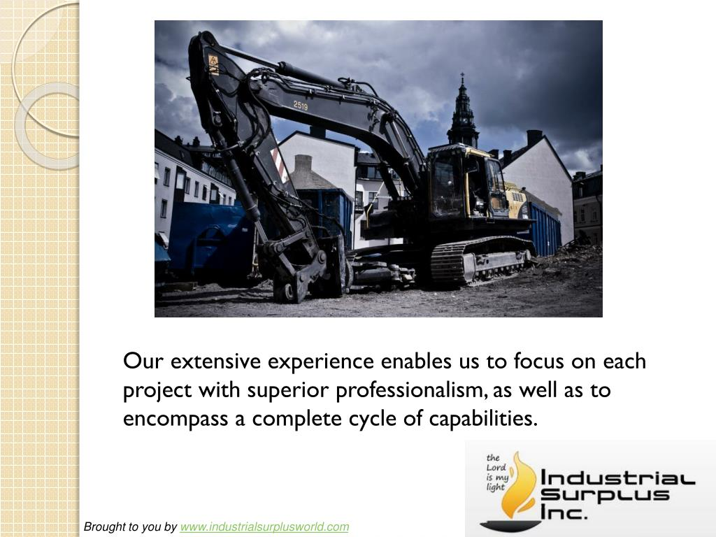 Our extensive experience enables us to focus on each project with superior professionalism, as well as to encompass a complete cycle of capabilities.